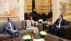 الحريري التقى الحسن وبو صعب في السراي