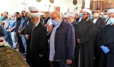 دار الفتوى نعت إمام وخطيب مسجد الإمام علي الشيخ زكريا غندور