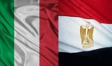 خارجية مصر وايطاليا تؤكدان رفض التدخلات الخارجية العسكرية في ليبيا