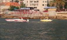 الدفاع المدني: سحب زورق سياحي معطل من خليج جونية إلى ميناء الأكوا مارينا