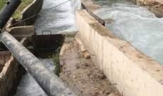 مؤسسة مياه بيروت وجبل لبنان: أمّنّا مصدر مياه بديلا لقناة ري ساحل جبيل