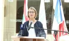 وزيرة الثقافة الفرنسية زارت دير سيدة الزروع والجامعة الأنطونيّة