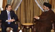 ساعات حاسمة : الإنفراج أو الإنفجار الحريري ينتظر .. ونصرالله يحدد الوجهة