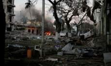 قتلى وجرحى جراء تفجير انتحاري أمام مقري البرلمان والداخلية في مقديشو