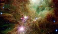 """""""ناسا"""" تنشر صورة لشجرة عيد الميلاد في الفضاء"""