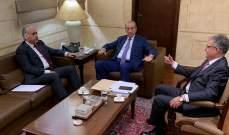 أبو الحسن بحث في مجلس الإنماء والإعمار شؤوناً إنمائية