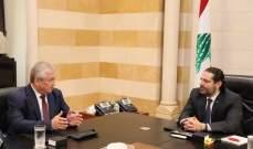 لافرانتييف من السراي: مستعدون للعمل المشترك مع اللبنانيين في إطار مسار أستانا