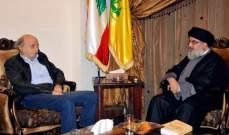 مصادر الشرق الأوسط: ثمة قطيعة حاليا بين جنبلاط ونصرالله والمساعي جارية لوقف السجالات