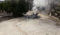 النشرة: صاروخ مجهول المصدر سقط في أحد البساتين بالقرب من بلدة كوكبا