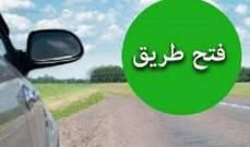 التحكم المروري: اعادة فتح السير على طريق عام تعلبايا باتجاه شتورا