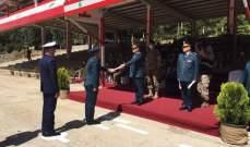 إقامة حفل تخريج تلامذة رتباء السنة الثالثة في بعلبك برعاية قائد الجيش