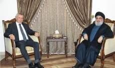 lbc: السيد حسن نصرالله التقى رئيس تيار المردة سليمان فرنجية