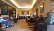 حسن عز الدين يستقبل وفداً من النقابات والجمعيات الزراعية في الجنوب
