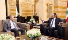 """مصادر لـ""""الشرق الاوسط"""": لقاء باسيل الحريري تم بدفع من عون لسحب الخلافات من التداول"""