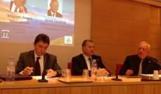 قمير محاضرا في باريس: لانشاء هيئة اقليمية للاحواض للتعاون بين الدول المتشاطئة