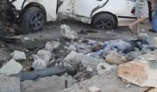 قتيلان و3 جرحى نتيجة حادث سير مروع على طريق عام بوداي بعلبك