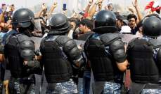 القوات الأمنية العراقية في محافظة النجف تدخل حالة الإنذار القصوى