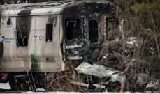 إصابة 9 أشخاص إثر اصطدام حافلة بقطار للركاب في إستونيا
