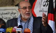 مصطفى حمدان اتصل بالسفير السوري معزيا بوفاة المعلم
