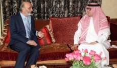 معلومات للـMTV: البخاري نقل لجعجع رسالة ود ودعم من قيادة السعودية إلى لبنان