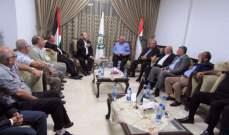 بيروت محور حراك فلسطيني رفيع المستوى... المجلس الوطني والمصالحة وأمن المخيمات