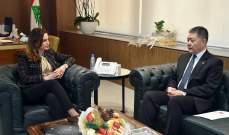 عبد الصمد عرضت مع سفير الصين شؤونا إعلامية وتطورات فيروس كورونا