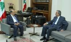 الرئيس عون عرض مع الخازن العلاقات اللبنانية- الفاتيكانية واطلع على واقع مستشفى الجعيتاوي