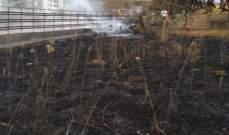 الدفاع المدني: اخماد حريق أعشاب في رويسات صوفر