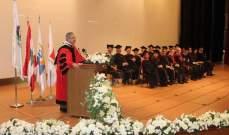 أيوب: رسالتنا هي بناء الإنسان بجامعة أردنا أن تكون مصنعًا للطاقات والكفاءات