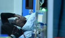 تقرير مستشفى بيروت الحكومي عن كورونا: 3 إصابات في وحدة العزل و40 حالة في قسم الطوراىء