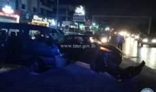 3 جرحى نتيجة تصادم بين 3 مركبات على اوتوستراد خلدة باتجاه صيدا