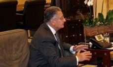 غصن اعلن تأييده لكلام مكاري عن التمثيل الارثوذكسي في الحكومة