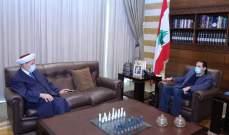 الحريري عرض مع الشعار شؤونا طرابلسية والتقى نقيبي المحامين والمهندسين في الشمال