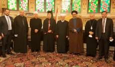 """وفد من """"المركز الحبري المريمي لحوار الأديان في لبنان"""" زار كلا من دريان وحسن"""