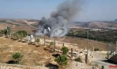 المنار: توقف القصف الاسرائيلي على البلدات الحدودية