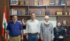 درويش التقى جمعية أولياء طلاب الجامعات الاجنبية: لا نقبل بالتفلت الامني