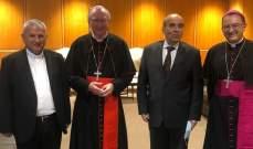 أمين سر دولة الفاتيكان: لبنان ليس لوحده ومعاً سنعيد بناء بيروت