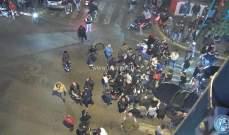 اعتصام أمام ثكنة الحلو في مار الياس يتخلله قرع للطناجر مطالبة بالإفراج عن دانا حمود