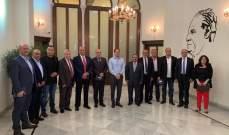 الجميل التقى رئيس تجمع الصناعيين في البقاع