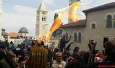 الأمن الإسرائيلي اعتدى على مصلين مسيحيين قرب كنيسة القيامة بالقدس