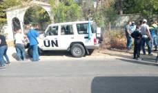 النشرة: أهالي الشرقية بالنبطية اعترضوا دورية تابعة للوحدة الغانية بـ
