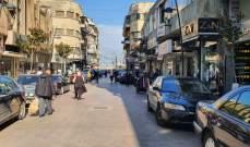 النشرة: زحمة سير خانقة مع عودة الحياة إلى طبيعتها في مدينة صيدا
