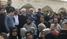 النشرة: عائلات محكومي احداث عبرا واصلوا تحركهم مطالبين بعفو عام