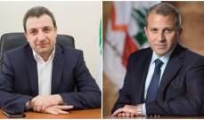 """مصادر """"النشرة"""" نفت حصول جدال أو إشكال بمجلس الوزراء بين أبو فاعور وباسيل"""