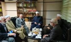 حركة التوحيد: وفد علمائي زار طهران وتأكيد ضرورة التمسك بالمقاومة