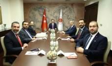 كرامي التقى العديد من كبار المسؤولين الأتراك في أنقرة: تركيا نموذج يحتذى به