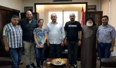 رئيس إتحاد بلديات القيطع عرض مع وفد من مؤسسة رينيه معوض مشروعي فرز النفايات