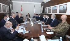 عكر: لضرورة العمل الجدي لتخطي أزمة إنفجار بيروت بظل الوضع المالي والإقتصادي الصعب