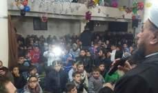 احتفال بمسجد بلدة مجدلا بعيد المولد النبوي الشريف