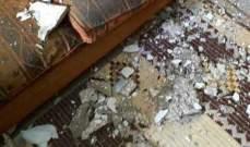 النشرة: انهيار جزء من سقف منزل في مخيم الرشيدية ولا اصابات